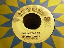 "MAJOR LANCE matador / hey little girl ( r&b ) - 7"" / 45 - PROMO -"