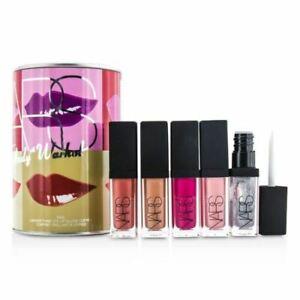 NARS Andy Warhol KISS Larger Than Life LipGloss Coffret New
