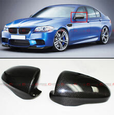 FOR 2012-2017 BMW F10 M5 DIRECT ADD ON CARBON FIBER SIDE MIRROR COVERS CAPS-PAIR