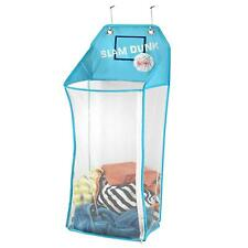 Over Door Hanging Kids Laundry Hamper Bag Basket -Flashing Lights Up- BASKETBALL