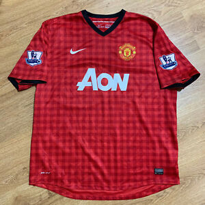 Manchester United 2012/2013 Home Football Shirt Jersey Size 2XL
