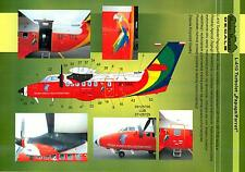 Model Maker Decals 1/144 LET L-410 PARROT TURBOLET Transport