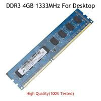 4GB 8G 32G PC3-10600 DDR3 1333MHZ Dimm Desktop Memory lot Ram 1.5V For Micron RL