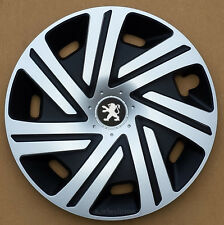 "Set of  4x15"" wheel trims to fit Peugeot 208"
