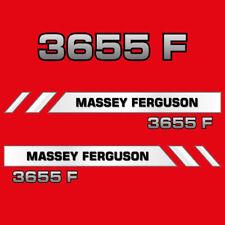 Massey Ferguson 3655 F decal aufkleber adesivo sticker set