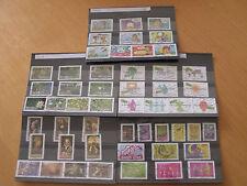 collection FRANCE Oblitéré 2008  54 timbres différents 5 séries