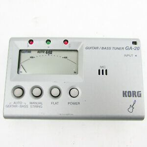 Korg GA-20 Guitar / Bass Tuner LCD portable