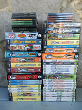 Sims 1 2 3 PC Game Base and Expansion Collection You Pick
