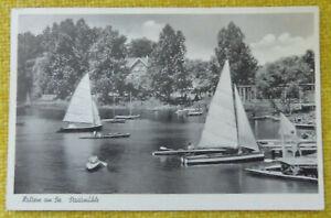 Ansichtskarte Haltern am See, Stadtmühle 1951  (65C.21)