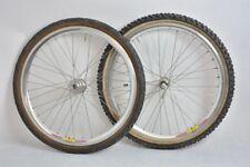 SHIMANO DEORE XT + ALEX rims downhill old wheelset 26' !! VGC !!! front hub 20mm