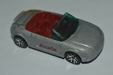 1999 Matchbox AUDI TT ROADSTER Gray Color China Diecast Used Loose 1:57 Scale