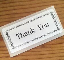 200 Thank You STICKERS SEALS LABELS  ENVELOPE/PACKAGE