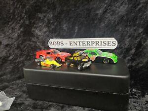 NASCAR SHELL PROMO CARS # 1 + #18 Dale Jarrett + # 3 tommy archer + SHELL TRUCK