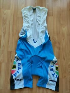 Sportful ITALIA National Champion Cycling Bib Shorts Skoda Size: L NEW !