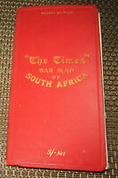 Rare 1900 War map of South Africa (Boer War) published by the Times (London)