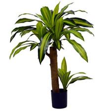 Planta Artificial Dracaena 80cm en planta de tiesto Tropical Planta Ornamental Regalo