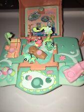 Littlest Pet Shop Teeniest Tiniest Mini Playset Frog Hermit Crab Lizard E