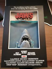 2006 Mcfarlane Toys Jaws 3-D Movie Poster - Very Rare
