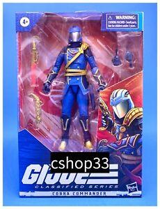 "GI Joe Classified Series REGAL COBRA COMMANDER Hasbro Pulse Exclusive 6"" Figure"