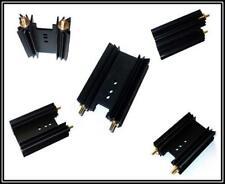 Kühlkörper Aluminium Schwarz Eloxiert TO220, TO247  2 Stück