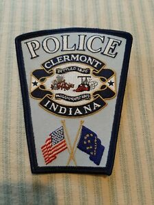 Clermont Indiana Police Sheriff Patch New