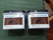 2 New Starborn Pro Plug System for Fiberon Brownstone Decking  200 Square Ft.