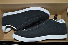 New Nike Womens Racquette Black Leather Casual Shoes 454412-091 sz 6.5