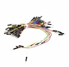 65pcs Solderless Flexible Breadboard Jumper Wires Cable M/M Male to Male