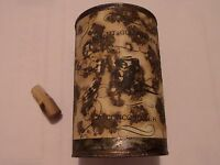 ANTIQUE WHITE MT. GUN POWDER CONCORD N.H. TIN SALE WAS $250