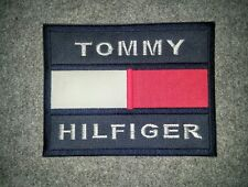 Tommy Hilfiger 1985 TH TH85 Embroidery 6x5 in Sew on Label Patch + FREE SHIPPING
