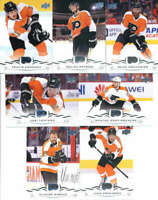 2018-19 Upper Deck Hockey Complete Philadelphia Flyers Team Set of 13 Cards