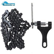 420 132 Link Chain For 110cc 125cc Dirt Pit Bike Quad TaoTao ATV W/Chain Breaker