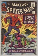 Amazing Spider-Man #40 VG September 1966 Origin Green Goblin UK printing
