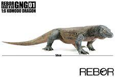 Rebor GrabNGo Komodo Dragon (Megalania 1:12 scale) Model NEW