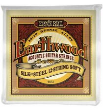 Ernie Ball 2051 - Jeu de 12 cordes guitare acoustique - Earthwood 80/20 Bronze