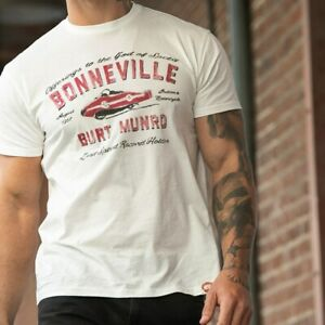 Genuine Indian Motorcycle T-Shirt -Mens 1901 Bonneville Tee - New With Tags