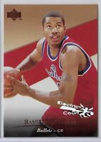 1995-96 Upper Deck Rasheed Wallace Electric Court Parallel SP Rookie No. 134