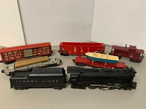 WOW! Lionel Postwar 1958 set 2503WS w/665 Hudson and freight cars! C6 FREE SHIP!
