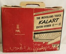VINTAGE KALART MOVIE EDITOR VIEWER 8 MARK II IN ORIGINAL BOX FILM
