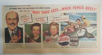 Pepsi-Cola Ad: The Maitland Family of Long Island 1940's Size: 7.5 x 15 inches