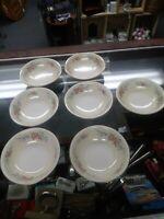 Eggshell Nautilus China 7 berry/ dessert bowls. Vintage