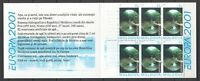 """Moldova 2001 CEPT Europa Booklet """"Water, A Treasure of Nature"""" 6 MNH stamps"""