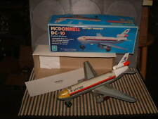 ALPS B/O MCDONNELL DC-10 JET (UNITED) ALL FUNCTIONS PERFECTLY WORKING W/BOX! WOW