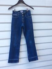 Vintage 80s 90s HIGH WAIST Denim Flare Flared Jeans Pants 8 10 Highwaisted Vtg