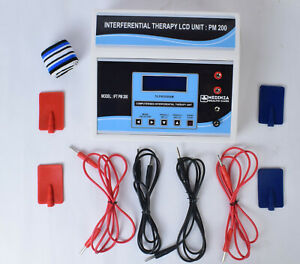 Professional Use Interferential Physical Therapy Unit IFT PM 200 LCD Pro Machine