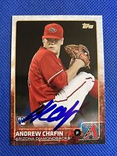 2015 Topps Andrew Chafin #692 Auto Signed Autograph Dbacks