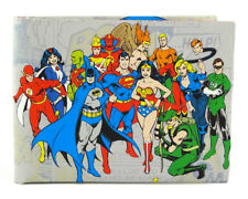Justice League Wow Wallet wonder woman batman superman flash