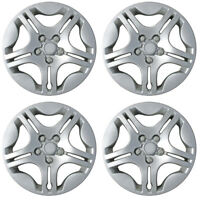 "Set of 4 Hubcaps Fits 04-08 Chevrolet Malibu 15"" Chrome Replacement Rim Skin"