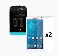 Samsung Galaxy A5 A500 2 Películas protector de pantalla de cristal templado