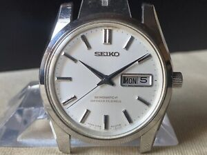 Vintage SEIKO Automatic Watch/ SEIKOMATIC-P 5106-8010 33J SS 1967